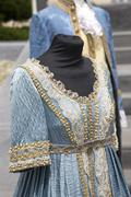 Historical dress of the Bourbon age in Naples Stock Photos