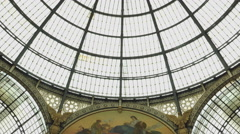 Galleria Vittorio Emanuele II in Milan,ULTRA HD 4K, real time Stock Footage