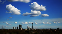 Primrose Hill. London Skyline. Timelapse Stock Footage