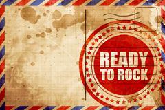 ready to rock - stock illustration