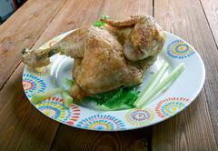 Cornish game hen - stock photo