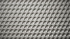 Background animation loop of rotating titanium cubes. Stock Footage
