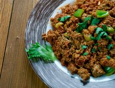 Chicken Keema Stock Photos