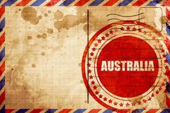 Greetings from australia Stock Illustration