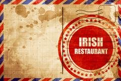 Delicious irish cuisine Stock Illustration