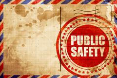 Public safety Stock Illustration