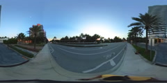 360 spherical video Sunny Isles Beach Regalia Stock Footage