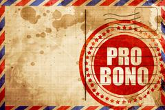 pro bono - stock illustration
