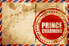 Prince charming Stock Illustration