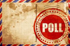 Poll Stock Illustration