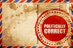 Politically correct Stock Illustration