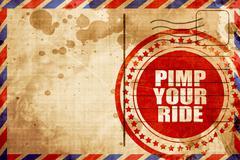 Pimp your ride Stock Illustration