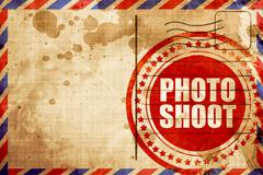 photo shoot - stock illustration