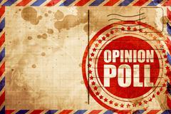 Opinion poll Stock Illustration