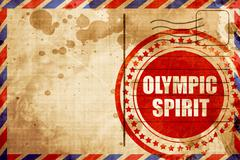 Olympic spirit Stock Illustration
