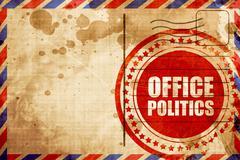 Office politics Stock Illustration
