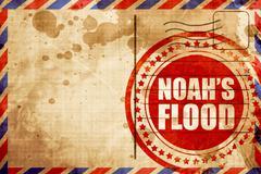 Noah's flood Stock Illustration