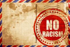No racism Stock Illustration