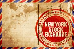 new york stock exchange - stock illustration