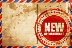 New opportunities Stock Illustration