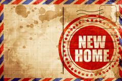 New home Stock Illustration