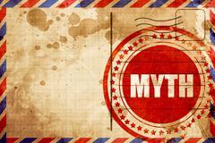 myth - stock illustration
