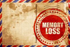 Memory loss Stock Illustration