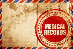 Medical records Stock Illustration