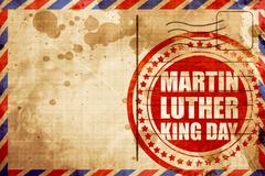 martin luther king day - stock illustration