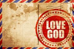 Love god Stock Illustration