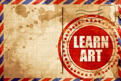 Learn art Stock Illustration