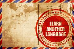 Learn another language Stock Illustration