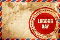 Labour day Stock Illustration