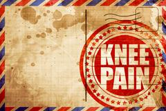 Knee pain Piirros