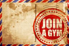 Join a gym Stock Illustration