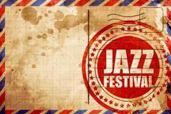 Jazz festival Stock Illustration