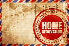 home renovation - stock illustration