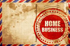 home business - stock illustration