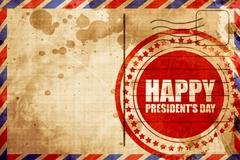 Happy president's day Stock Illustration