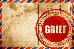 Grief Stock Illustration