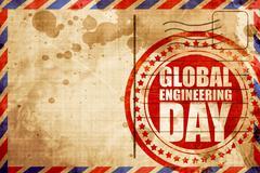 global engineering day - stock illustration