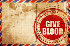 Give blood Stock Illustration