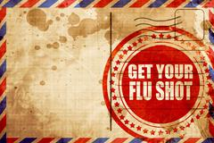 Get your fly shot background Stock Illustration
