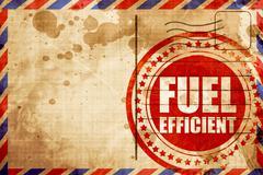 fuel efficient - stock illustration
