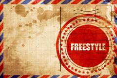 Freestyle Stock Illustration
