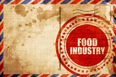 Food industry Stock Illustration