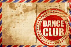 Dance club Stock Illustration