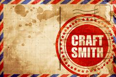 craft smith - stock illustration