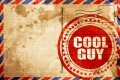 cool guy - stock illustration