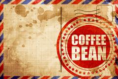 coffee bean - stock illustration